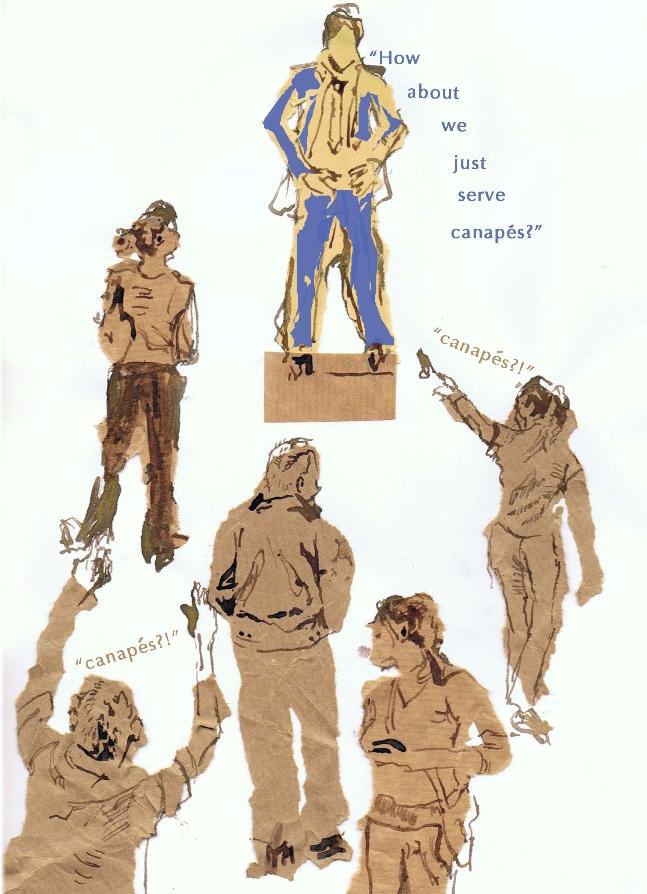 Canape Illustration