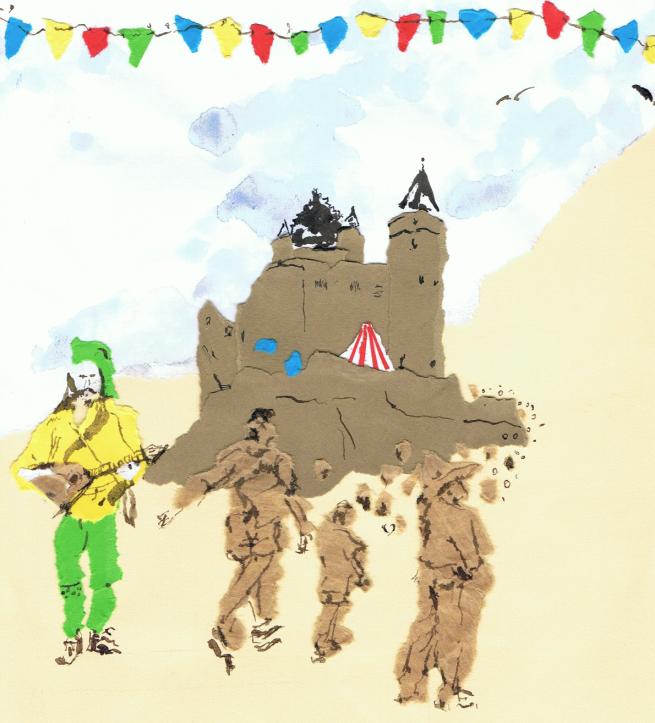 Medieval Festival Illustration