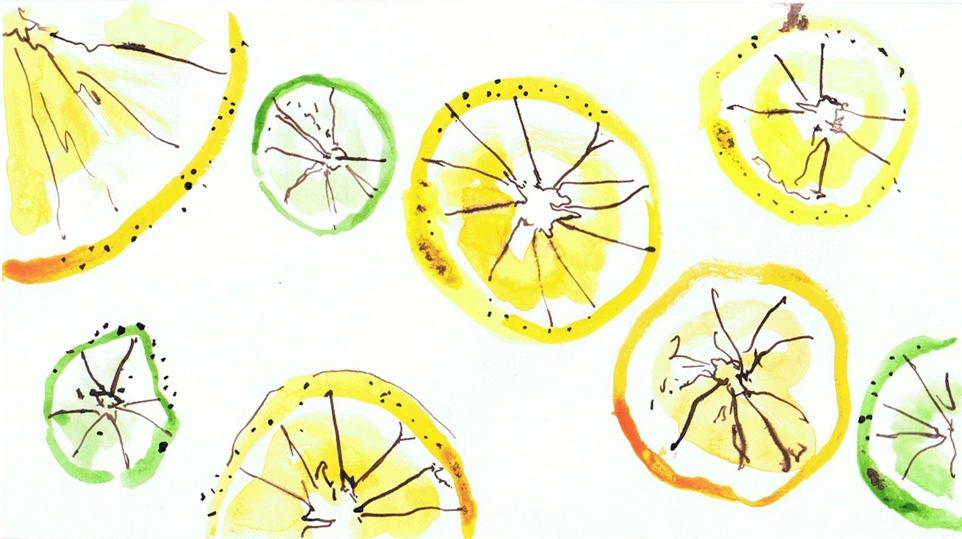 Oranges & Lemons Illustration