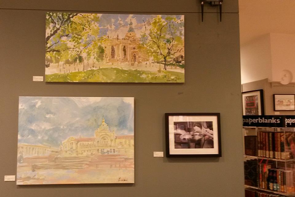 Birmingham Paintings at Waterstones