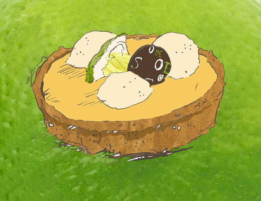 Lemon Tart Illustration