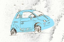 Car Editorial Illustration