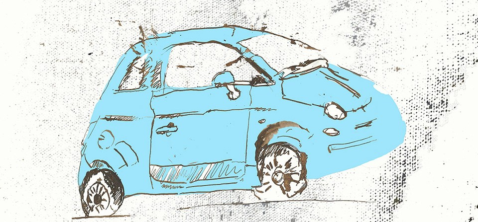 Car Editorial Illustration