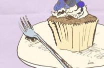 Cupcake Editorial Illustration