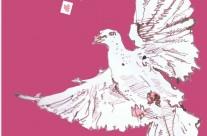 Love dove illustration