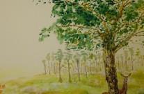 Woods Mural